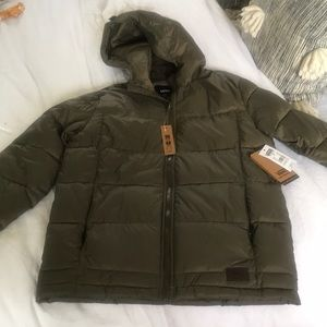 Kids VANS puffer jacket kids size small and large